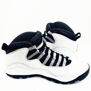216e18478b2250 Jordan Shoes - Jordan 10 Retro Steel Grey I m Back Edition Size 8